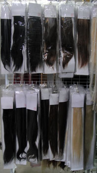 Each pack contains 20 pieces prebonded 100 human hair pieces