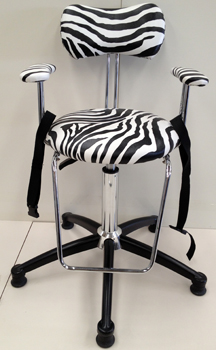 Kids Chair - in zebra print