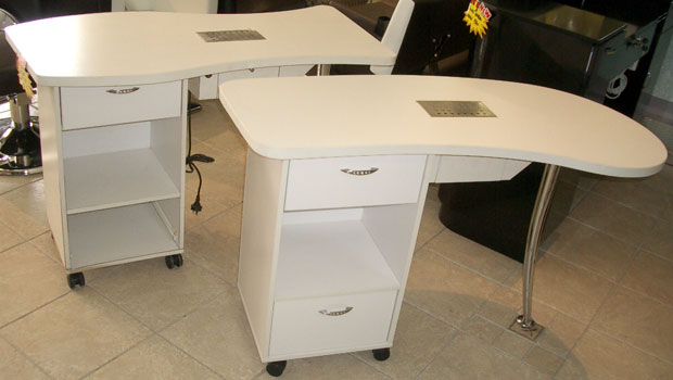 Manicure tables for Manicure tables with ventilation
