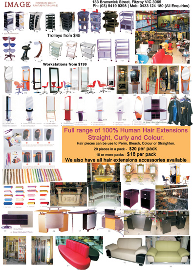 P3 - Trolleys, Workstations, Receptions & Hair Extensions