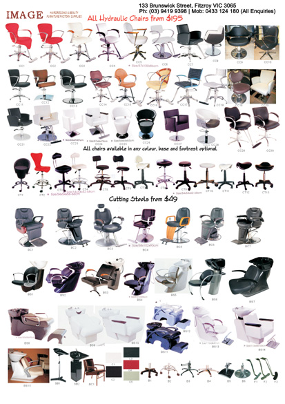 P4 - Chairs, Stools & Basins