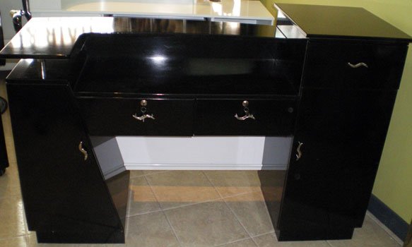 R14 - Reception Desk Back